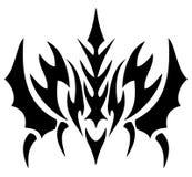 En okänd rovdjur i tatuering Arkivbild