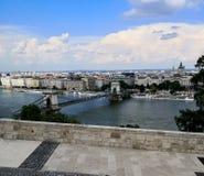 en olik sikt av Budapest royaltyfria foton