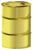 En olje- trumma royaltyfri illustrationer
