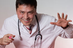 En ond doktor Arkivfoto