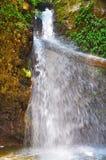 En ovanlig vattenfall i Turkiet Arkivfoto