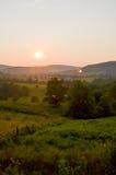 En Ozark Mountain View Fotografering för Bildbyråer