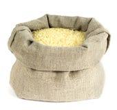 En påse av ris Fotografering för Bildbyråer