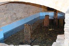 En pöl av vatten Arkivfoto