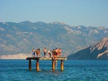 En Pantone, Baska, Croacia Fotos de archivo libres de regalías