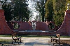 En parc. Photo libre de droits