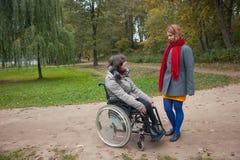 En parc Image libre de droits