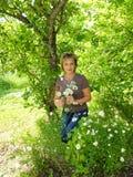 En parc de Pavlovsk image libre de droits