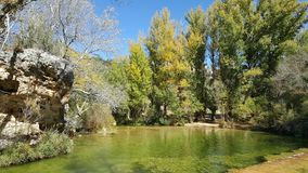 En parc naturel du haut Tajo à Guadalajara photographie stock libre de droits