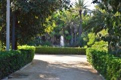 En parkera nära Benidorm Royaltyfria Foton