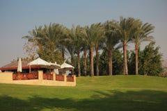 En parque de la ciudad de El Cairo Foto de archivo