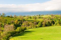 En parque nacional de los valles de Yorkshire fotos de archivo