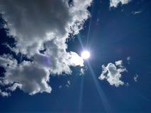 En parte nublado Fotografía de archivo
