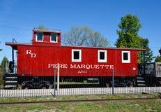 En Pere Marquette Cabose Royaltyfri Fotografi