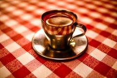 En perfekt espresso Royaltyfri Foto