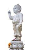En perfekt pediatrik av statyn Arkivbild