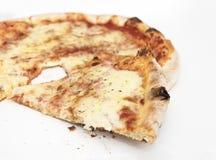 En pizza Arkivbild