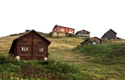 En platå på Kackar berg i Turkiet royaltyfri bild