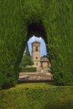 En plats i Alhambraen i Granada, Spanien Royaltyfri Foto