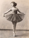 En Pointe балерины Стоковая Фотография