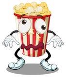 En popcorn stock illustrationer