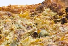 En portion av pizza Royaltyfri Fotografi