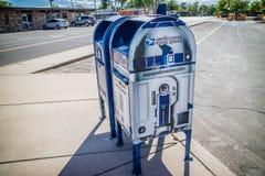 En post- postservice i Roswell som är ny - Mexiko arkivfoton