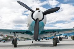 En propeller Royaltyfri Foto