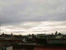 En Puebla de Atardecer imagem de stock royalty free