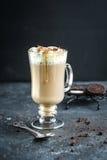 En råna av sött varmt kaffe Arkivbild