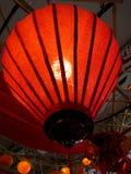 Röd lykta Arkivbild