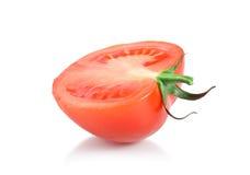en röd tomat Arkivfoton