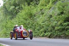En röda Benedetti Giannini 750 S Fotografering för Bildbyråer