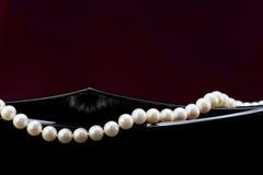 En rad av pärlor Royaltyfria Foton