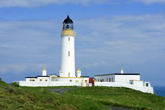 En regardant occidental, chauffez du phare de Galloway Photo stock