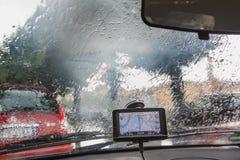 En regnig dag i Verona royaltyfri fotografi