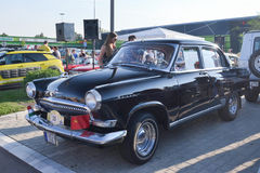 En retro Volga Arkivbild