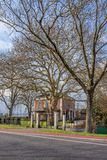 En riche Hagen, Woerden, Pays-Bas de Kop de villa image stock