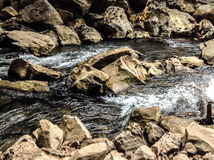 En rivière photos stock
