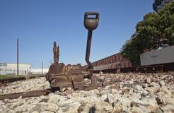Järnväg kopplar Arkivfoton