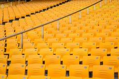En rumsren stol i idrottshallen Royaltyfria Bilder