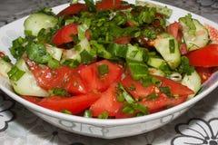 En sallad för ny grönsak Royaltyfria Bilder