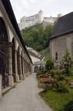En Salzburg vieja Foto de archivo libre de regalías
