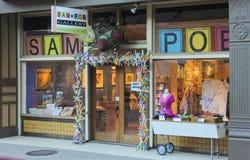En Sam Poe Gallery Shot, Bisbee, Arizona Fotografering för Bildbyråer