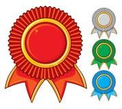 En samling av utmärkelsesymbolen Fotografering för Bildbyråer
