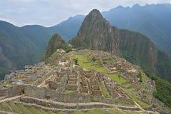 """En scenisk sikt av den machuPicchu â€en """"Peru Royaltyfria Bilder"""