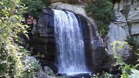 En scenisk vattenfall i virginia stock video