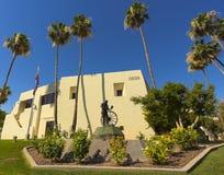 En Scottsdale stad Hall Shot, Scottsdale, Arizona Royaltyfria Bilder