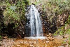 En segundo lugar caídas en la reguera de la cascada, sur de Australia Fotos de archivo