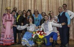 En serie av händelser i 2016 på datumet av den Tjernobyl olyckan i den Gomel regionen av Vitryssland Royaltyfria Foton